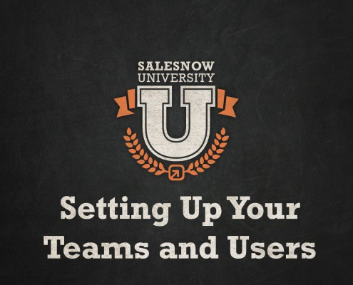 setting up your teams and users