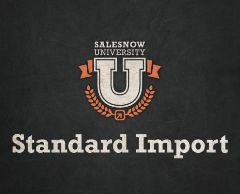 standard import